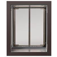 PlexiDor  saloon style K9 COMPOSITE panels - Dog Door